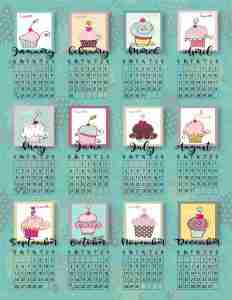Generic Calendars PNG's are a great tool when making your next calendar. Save time with easy copy paste Generic Calendar Grids.
