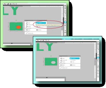 Subtract - Modify Panel - Silhouette Design Space