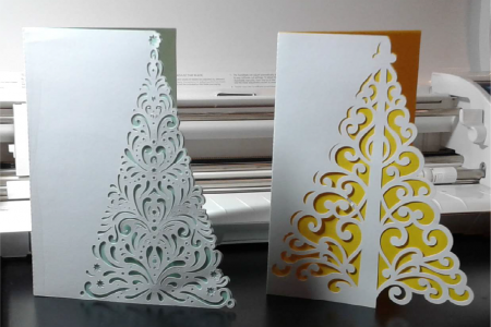 Christmas Tree Card Kits