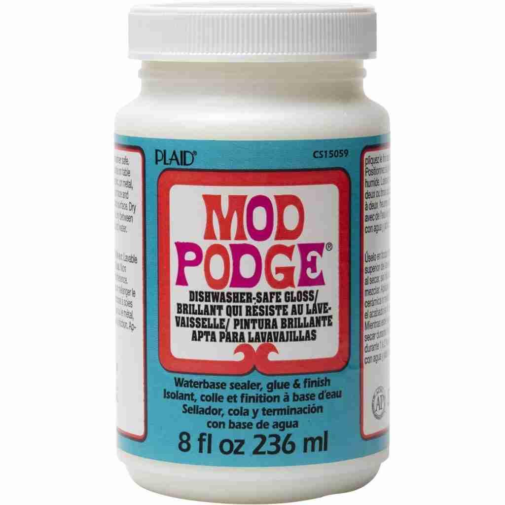 Mod Podge Dishwasher Safe